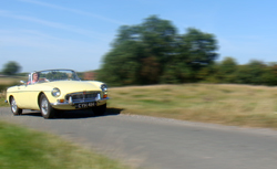 MGB Roadster Classic Car Hire