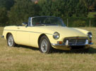 Classic Car Hire : MGB Roadster