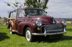 Morris Minor Classic Car Hire