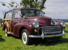 Classic Car Hire : Morris Minor Traveller 1000